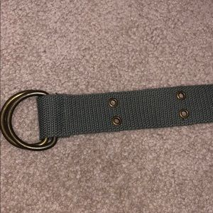 Accessories - Olive green, canvas material belt
